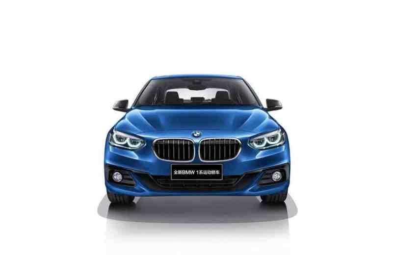 BMW 1er Limousine Front