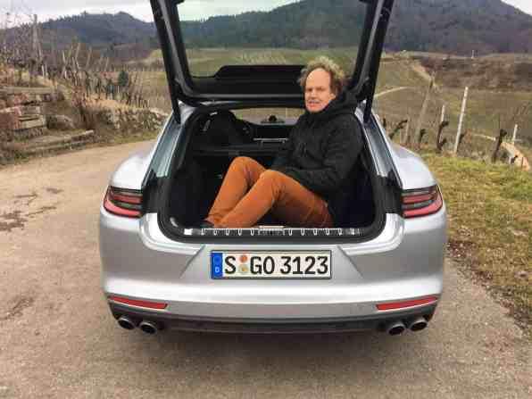 Porsche Panamera 4S Kofferraum