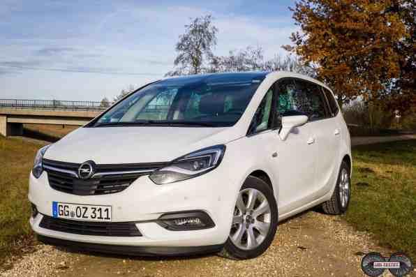 Opel Zafira 2017 Frontansicht
