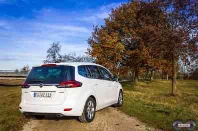 Opel Zafira Heckansicht 2017