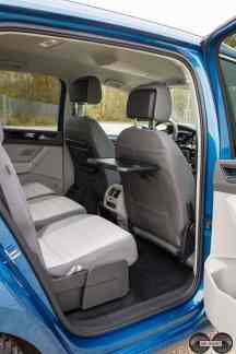 VW Touran Rücksitze