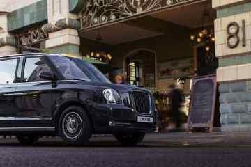 Das berühmte London-Taxi fährt ab heute elektrisch in die Welt