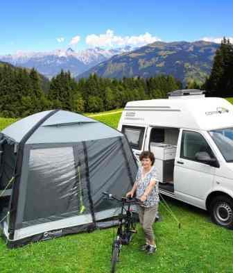 Campocito Duo Classico auf Basis des VW T6 mit Hochdach