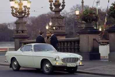 Eines der spektakulärsten Modelle des schwedischen Herstellers war der schicke Volvo P1800.