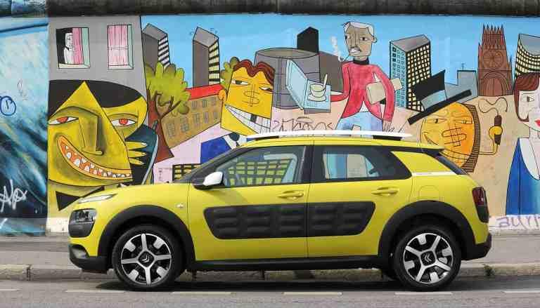 Citroën C4 Cactus nun mit Automatikgetriebe