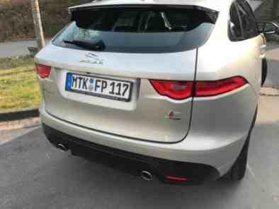 Jaguar F-Pace Heck