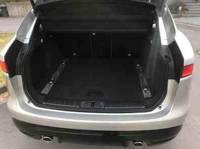 Jaguar F-Pace Gepäckraum