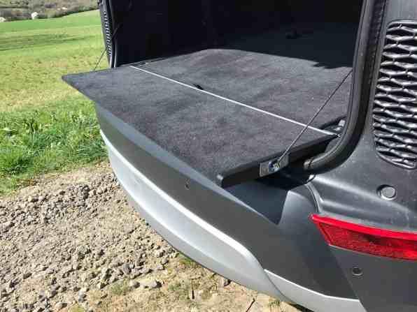 Land Rover Discovery ausklappbarer Sitz