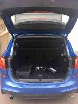 BMW 225xe Active Tourer Kofferraum