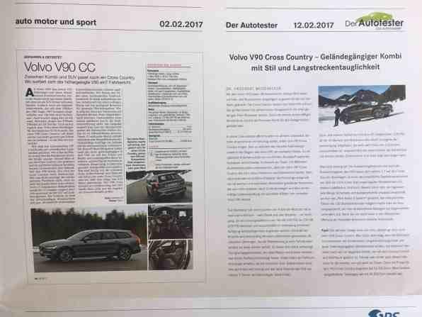 Volvo Pressespiegel