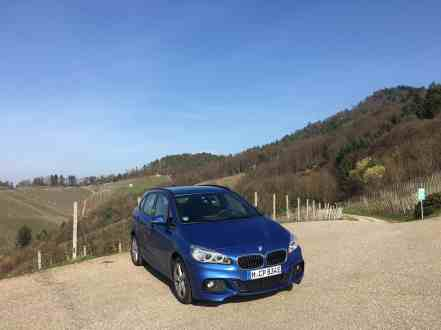 BMW 225xe Active Tourer Front