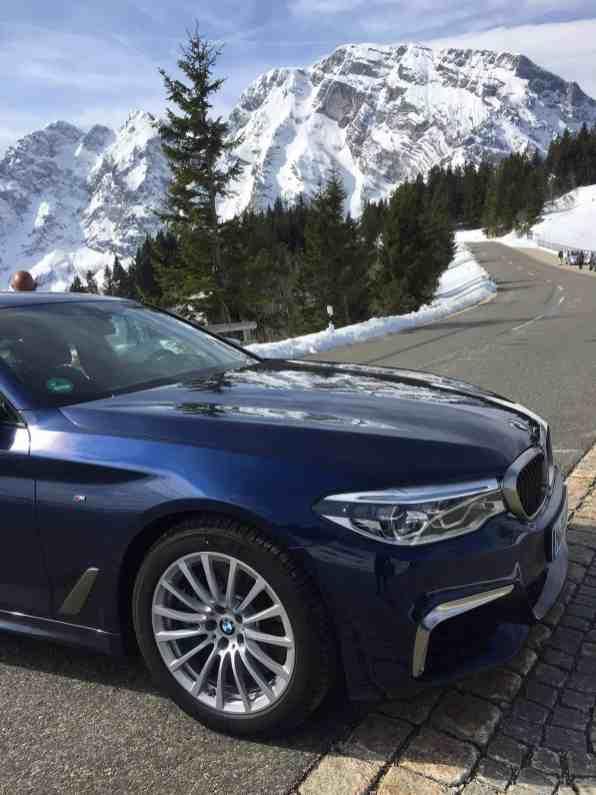 BMW M550i xDrive (G30) 2017 Scheinwerfer