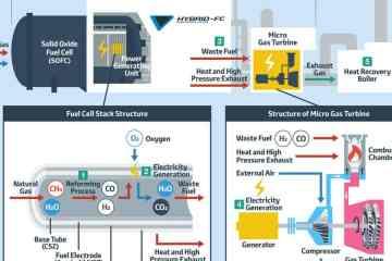 Toyota-Technik für Brennstoffzellen zur stationären Stromerzeugung
