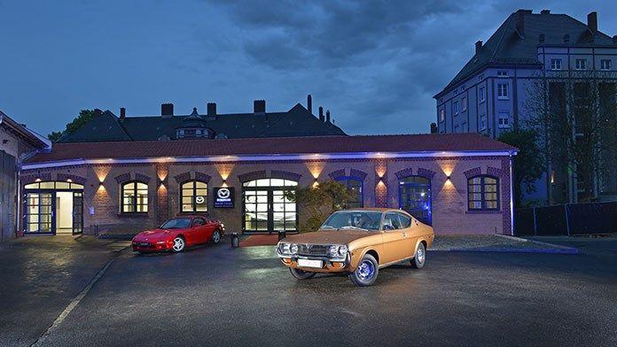 Neues Mazda-Automobil-Museum in Augsburg