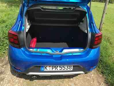 Dacia Sandero Stepway Kofferraum