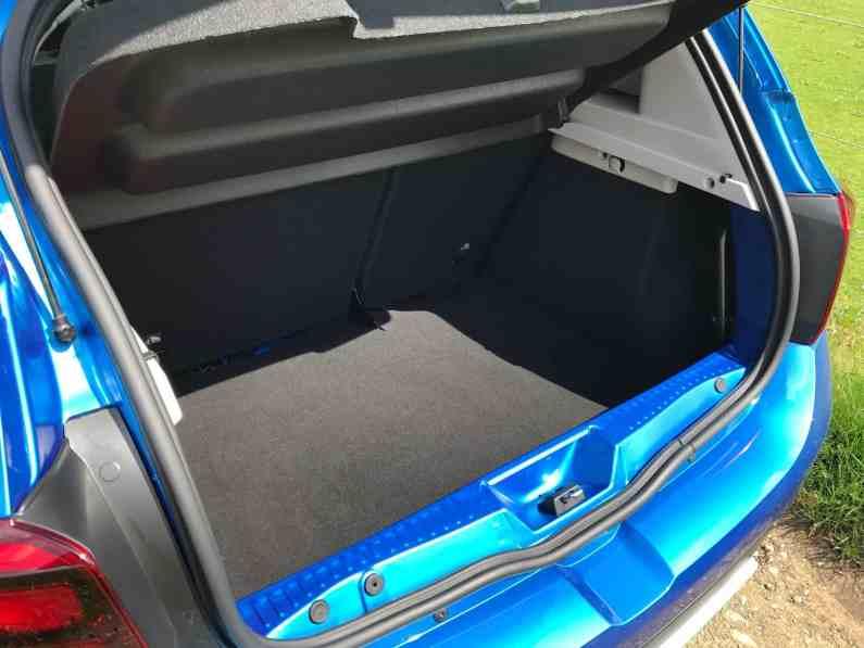 Dacia Sandero Stepway Gepäckraum