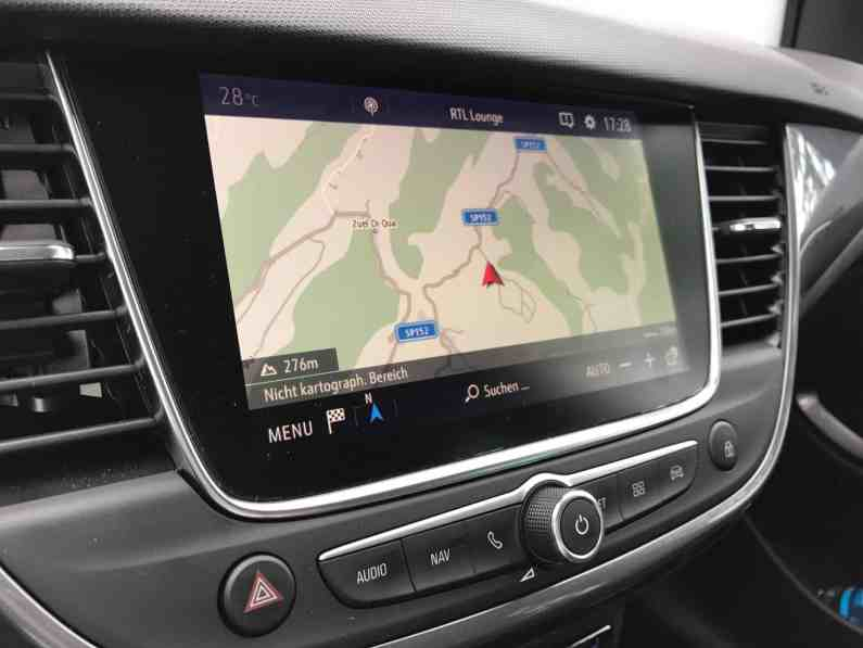 Opel Crossland X Head up Display