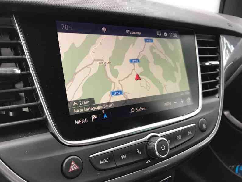 Opel Crossland X Head up Display