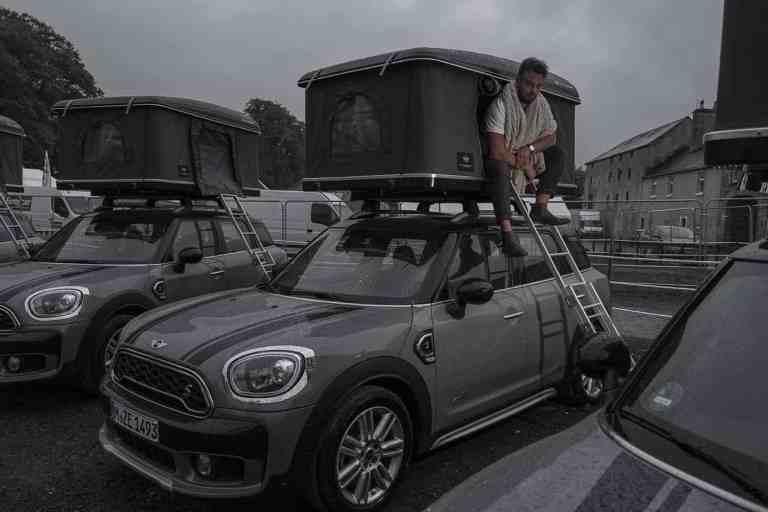 Internationale Mini-Meeting in Irland - Geschlafen wird auf dem Dach
