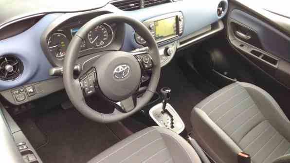Toyota Yaris Cockpit