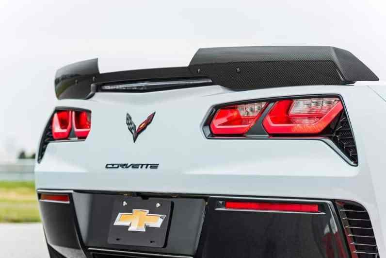 Chevrolet Corvette Carbon 65 Edition Heck