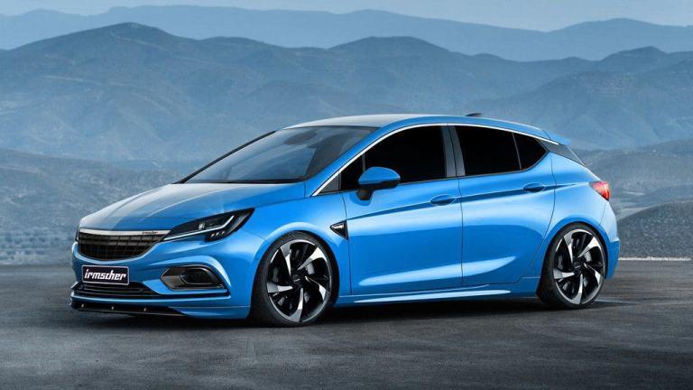 Irmscher tunt den Opel Astra