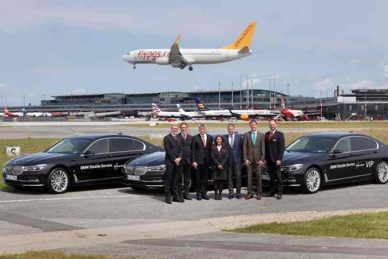 Neue elektrische Flughafen-Flotte