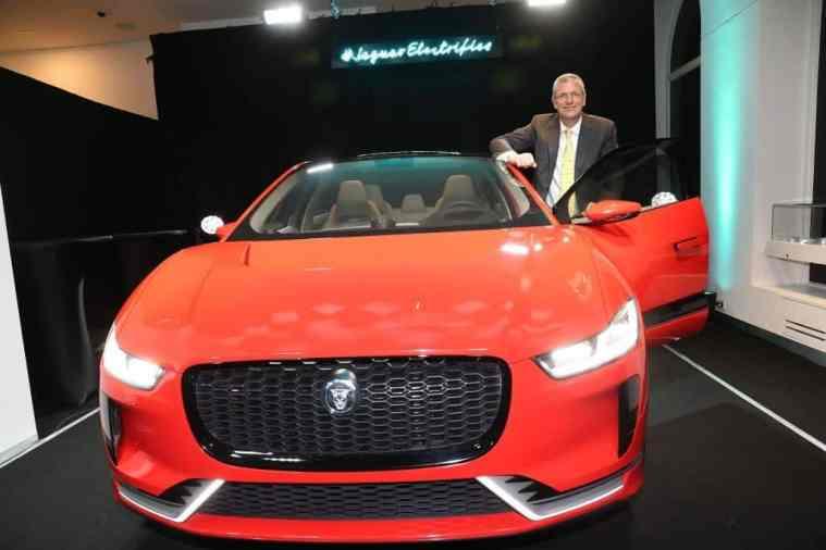 Jaguar I-PACE German Debut