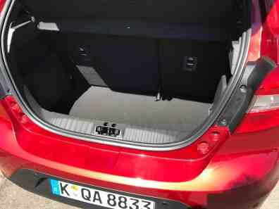 Ford Ka+ Kofferraum