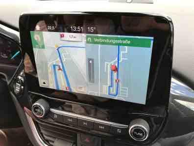 Ford Fiesta Display