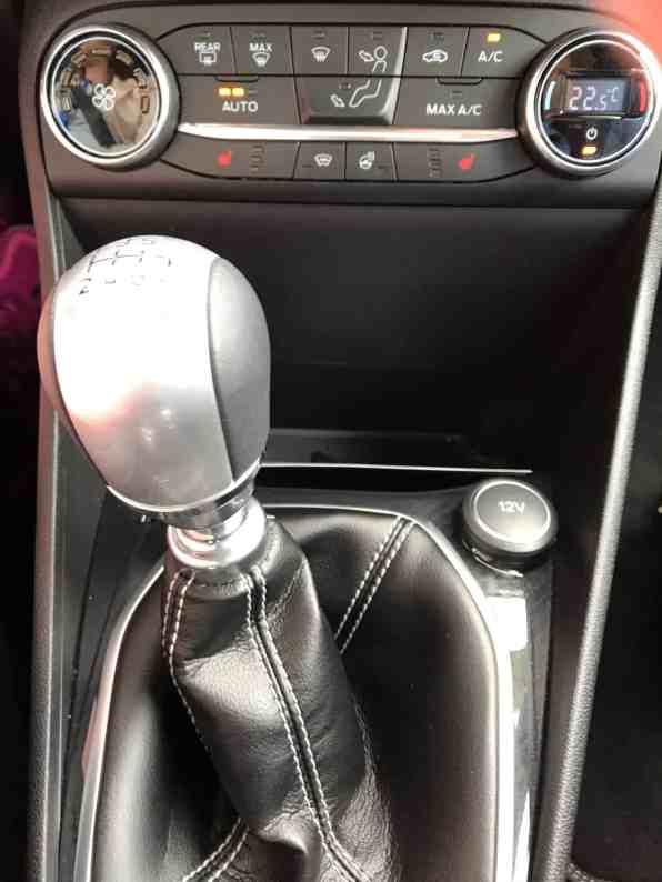 Ford Fiesta Schaltknauf