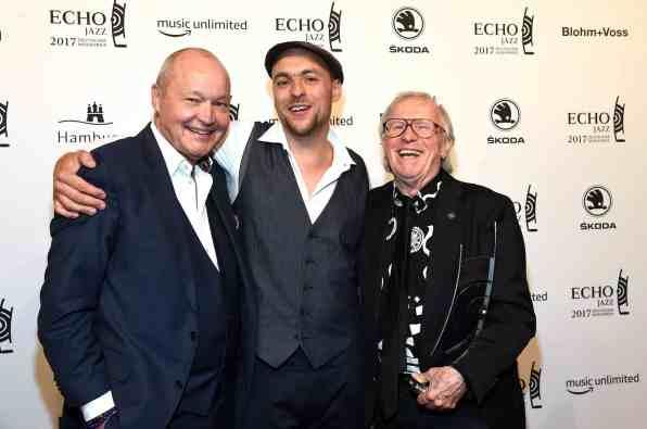 Verleihung des Echo Jazz - Preisträger auf dem Werftgelände von Blohm+Voss in Hamburg am 01.06.2017