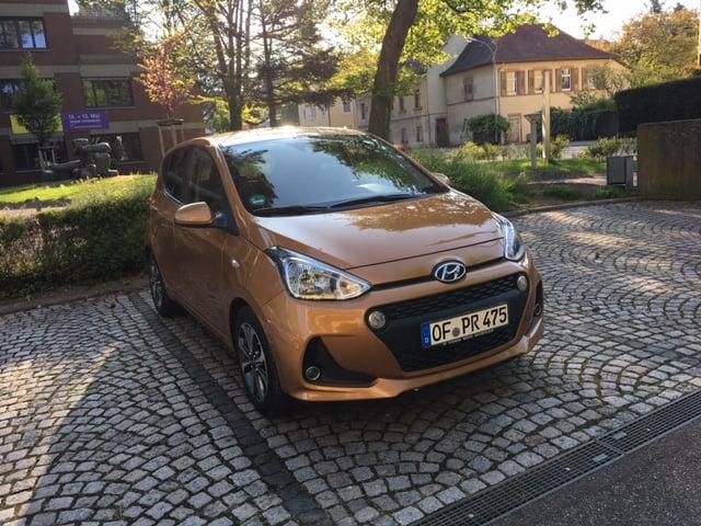 Hyundai i10 - Überzeugender Kleinstwagen