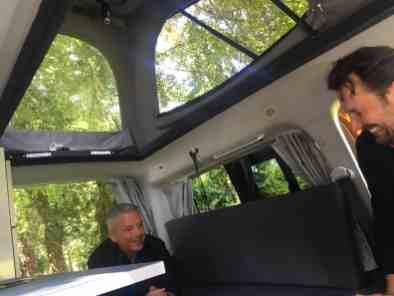 umgebauter Caddy von Reimo