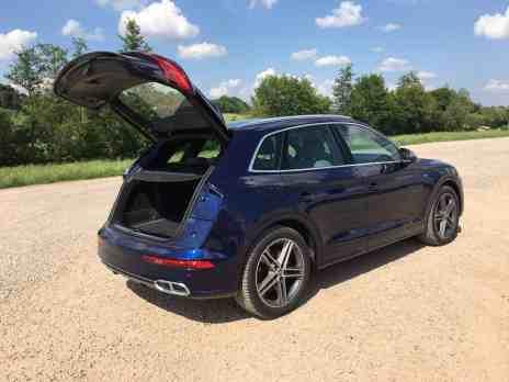 Der neue Audi SQ5 3.0 TFSI quattro Kofferraum