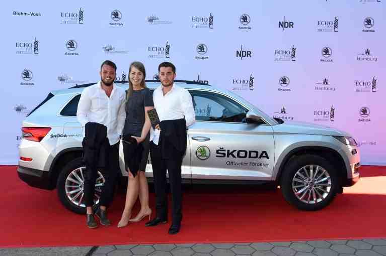 Echo Jazz 2017 - Im Skoda VIP-Shuttle mit Siggi Loch, Klaus Doldinger, Nils Landgren und Max Mutzke