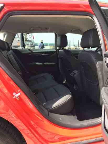 Opel Insignia Sports Tourer rückbank