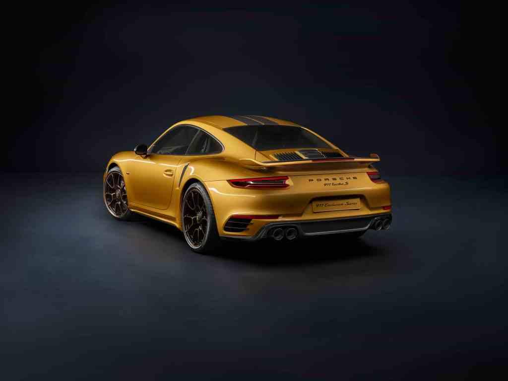 Auf 500 Exemplare limitiert - die neue 911 Turbo S Exclusive Series