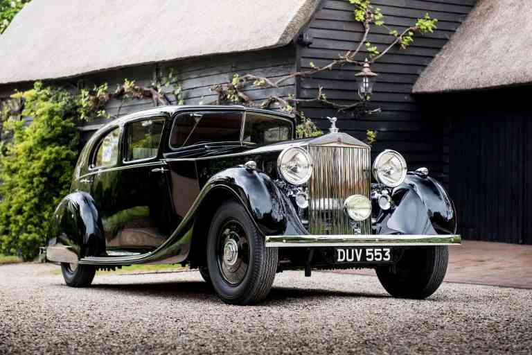 Hauch von Historie: Rolls-Royce von Montgomery
