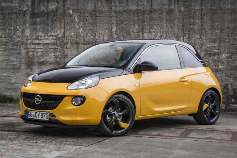 Opel Adam Black Jack startet ab 14.950 Euro
