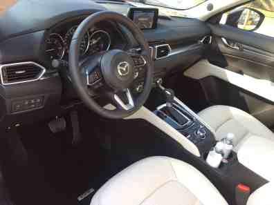 Mazda CX-5 Cockpi
