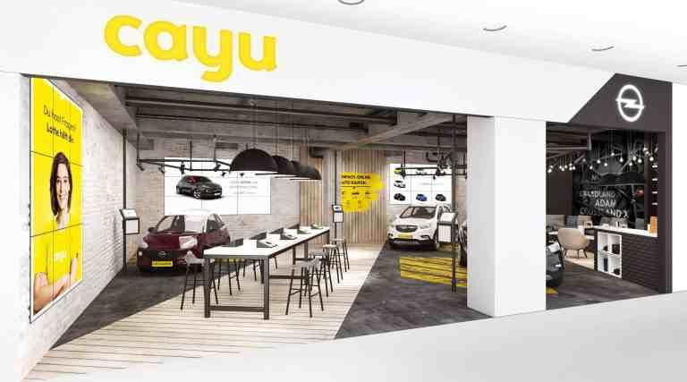 Opel richtet neuartigen Store ein
