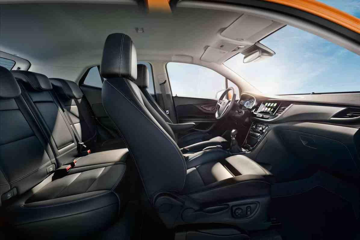 Opel Ultimate schont den Rücken: Ergonomiesitze wie hier im Mokka X gehören beim Top-Niveau zum Standard.