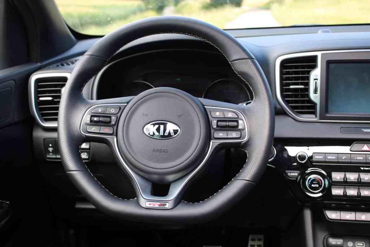 Kia Sportage GT line Lederlenkrad
