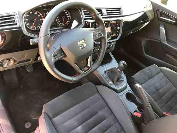Seat Ibiza Cockpit