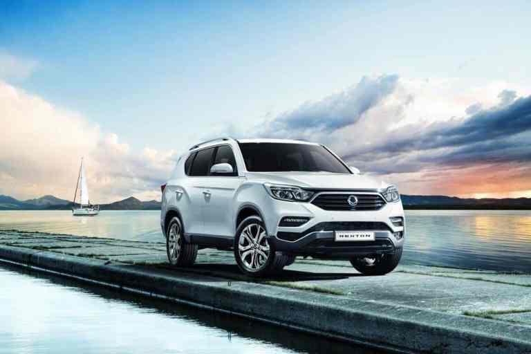 IAA 2017: Ssangyong Rexton tritt deutlich moderner auf
