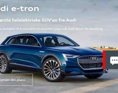 Norweger können schon Elektroautos von Mercedes und Audi bestellen