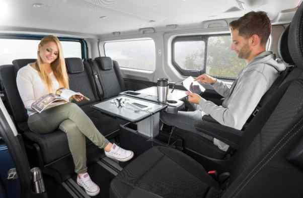 Opel Vivaro Life Innenraum