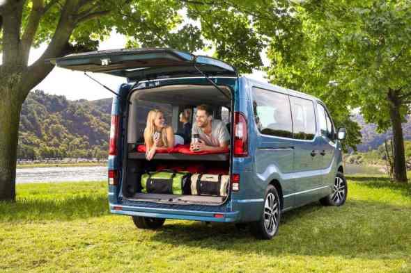 Opel Vivaro Life Kofferraumklappe
