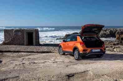 VW T-Roc, Kofferraum